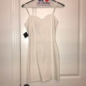 White Nastygal Slip dress